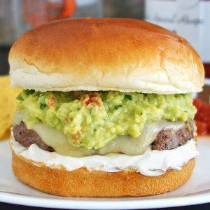 gucamole burger