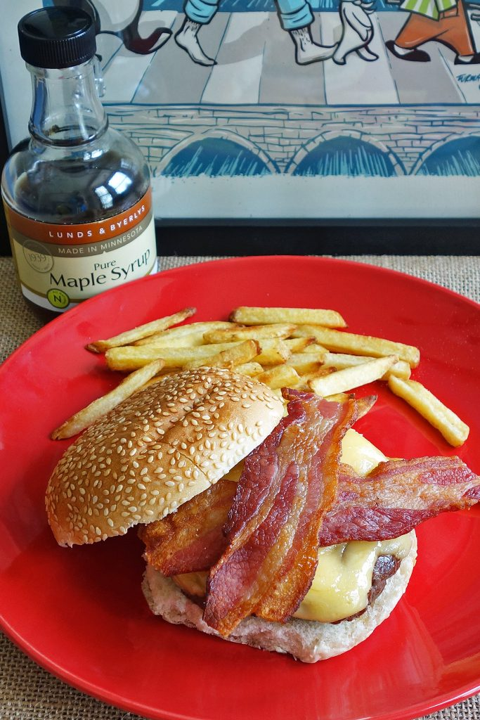 Maple Syrup Burger