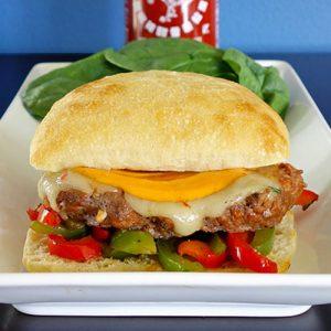 sriracha burger